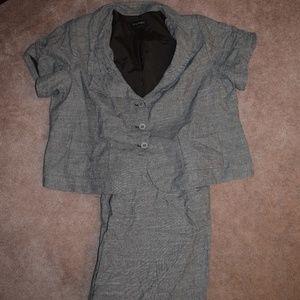 Lane Bryant size 26 Short Sleeve Suit Set